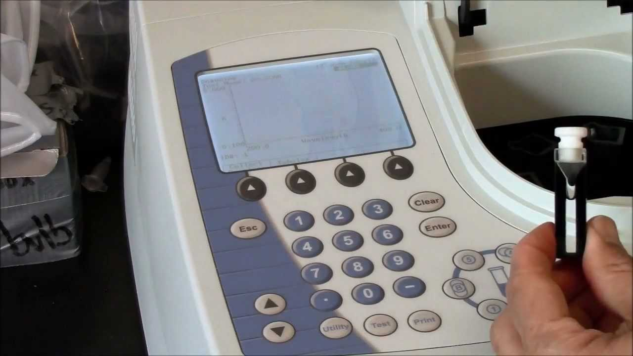 Genesys spectrophotometer uv scan youtube for Thermo scanner watch
