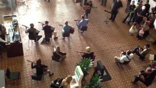 Encinitas Guitar Orchestra Flash Mob-Pachelbel