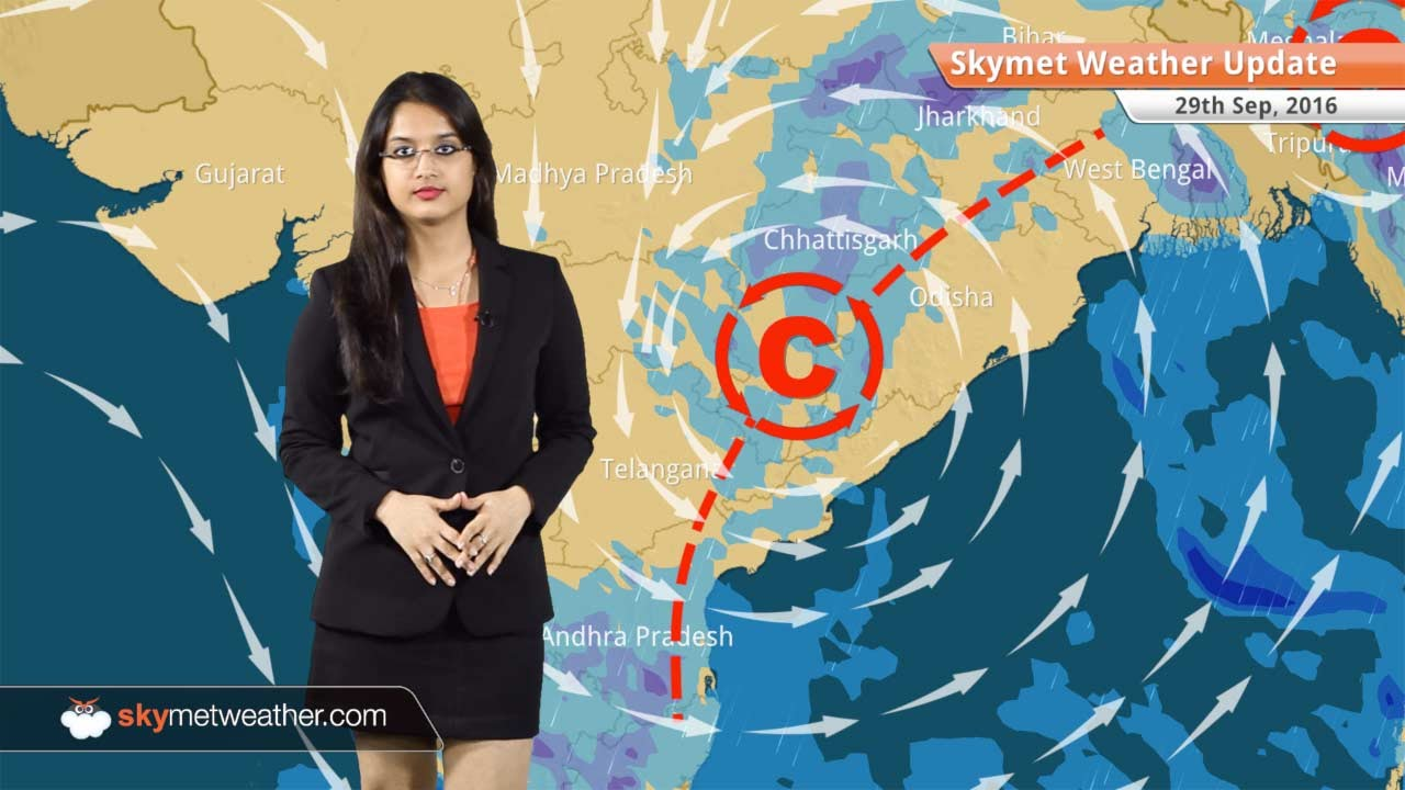 Download Weather Forecast for Sep 29: Rains in Odisha, Chhattisgarh, Chennai, dry in North India