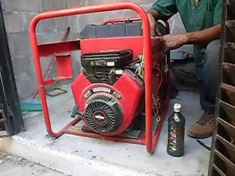 Generador VANGUARD 18HP V-TWIN