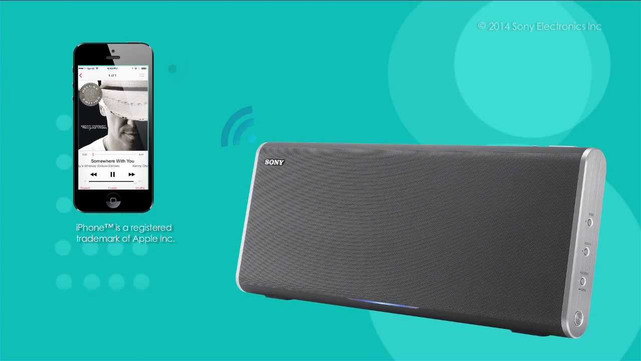 How to Connect and Pair a Sony® Premium Bluetooth Speaker ...
