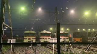 【ミニ撮影会風】東武350系×3編成、51008F、31609F+31409Fが仲良く並んで留置
