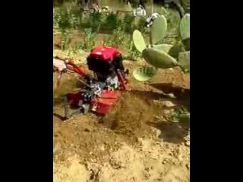 Motozappa brumi 11 cv a diesel 2parte youtube for Youtube motozappa