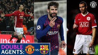 Manchester United v Barcelona | Double Agents | UEFA Champions League | UCL