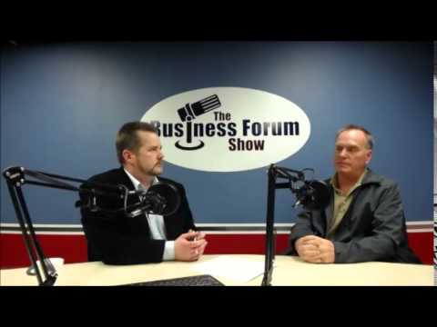 Screen Print NW, Jim Holter joins host Kevin Hunter on The Business Forum Show
