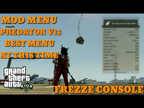 MOD MENU [PREDATOR V13] BEST MOD MENU AT THIS TIME/FREZZE