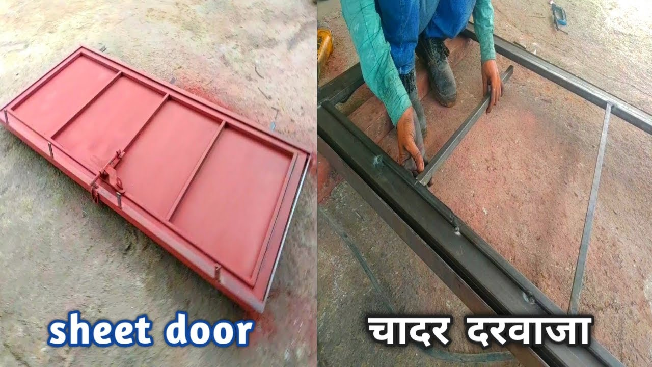 how to make door | very strong door | building door gate