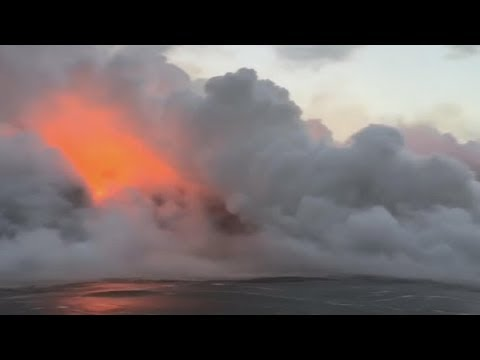 Kilauea volcano creates new threat with plumes of 'laze'