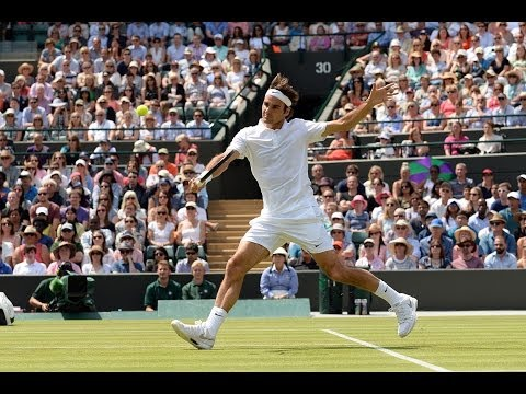 2014 Day 8 Highlights, Roger Federer vs Tommy Robredo, Fourth Round