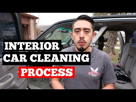 how to clean car interior like a professional detailer youtube. Black Bedroom Furniture Sets. Home Design Ideas