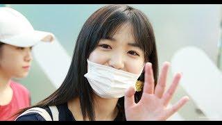 1일 인천 중구 공항로 인천국제공항 제1여객터미널로 출국하는 AKB48 시...