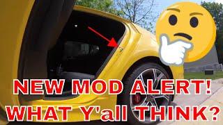 Stinger GT 1st MOD!!!