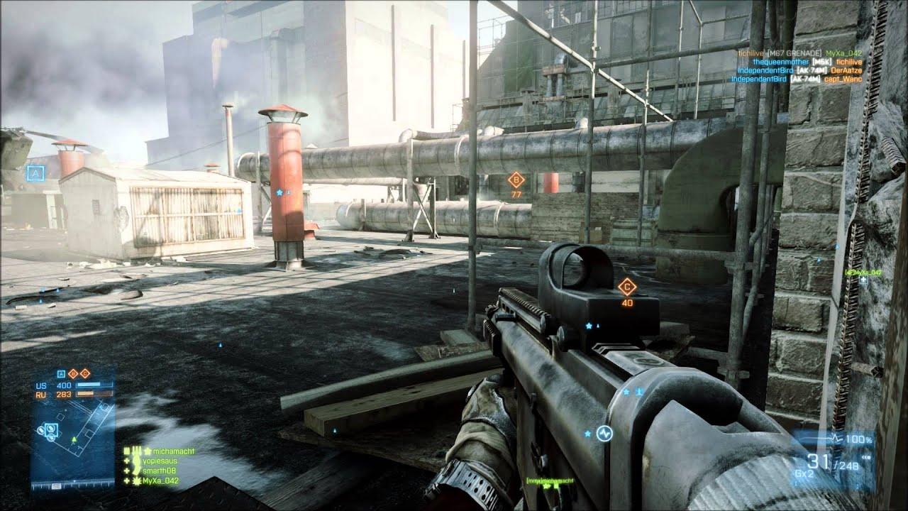 battlefield 3 gameplay scrap metal (pc) - YouTube