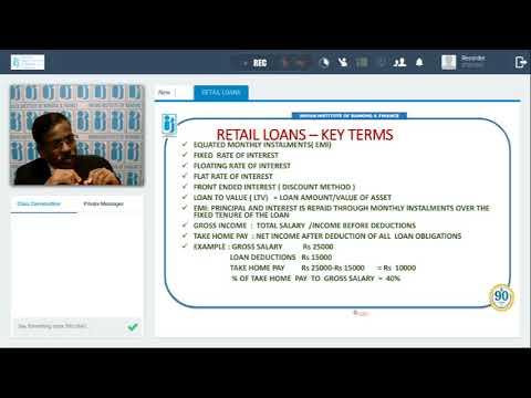 Chapter 5 - Loans & Advances: Retail Lending