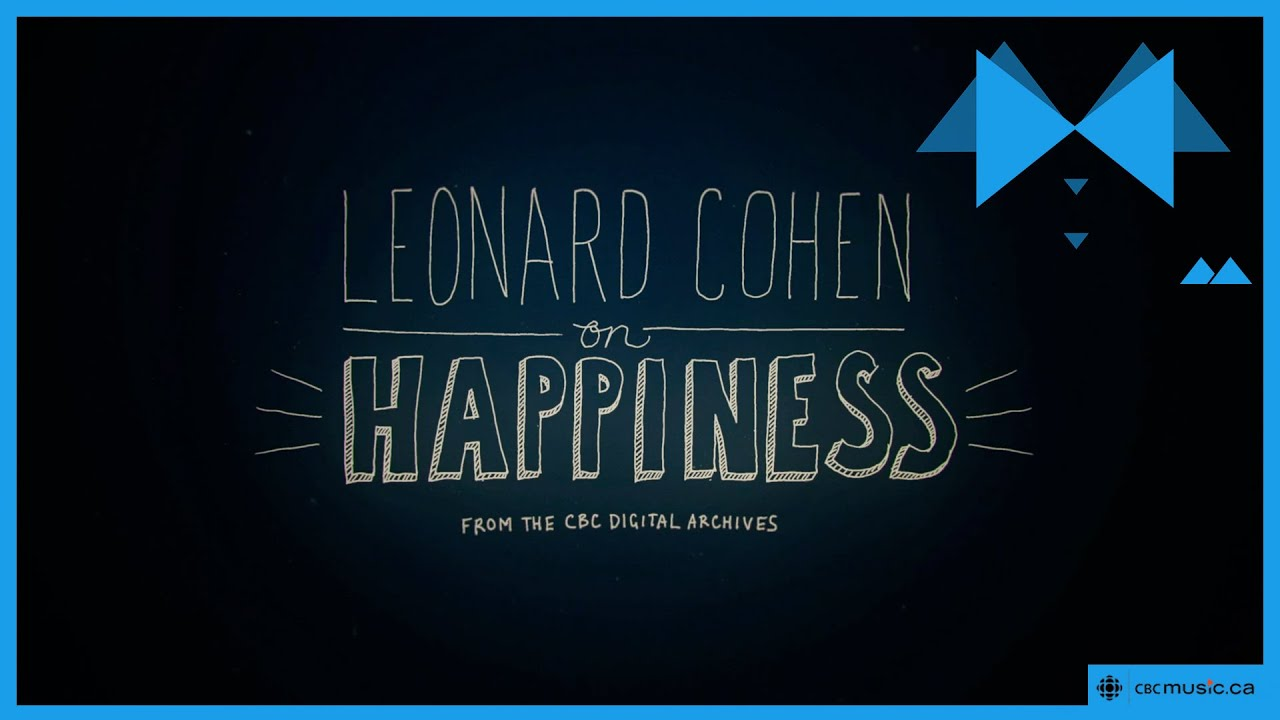 Three Leonard Cohen Animations