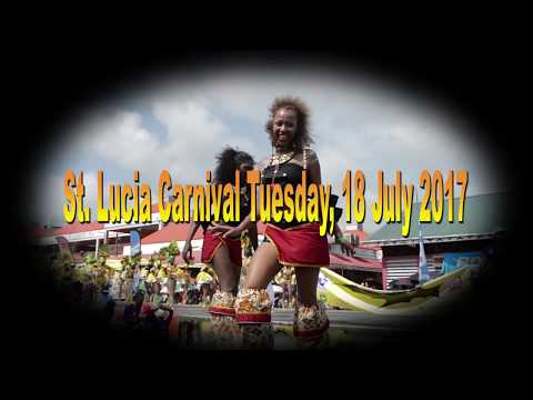 St. Lucia Carnival Tuesday, 2017