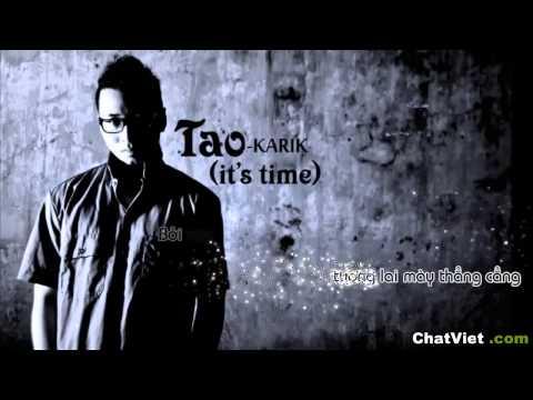 Beat Tao it's time - Karik (MV Lyric)