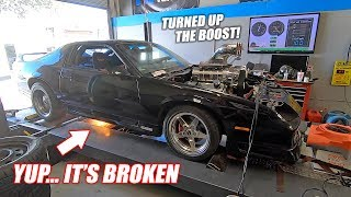 Toast Dyno Day #2: We Turned Up The Boost, Made EPIC Power, But Then... BANG
