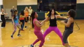 BANZAI-ZUMBA MASTER CLASS/MISSION TRIP TO ZAMBIA-PART1