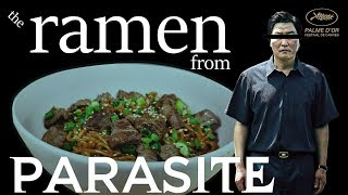 How to Make the Ramen Noodles from Parasite