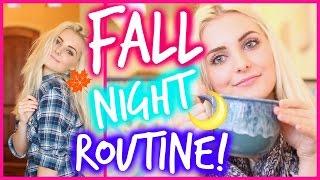 My Fall Night Routine! | Aspyn Ovard