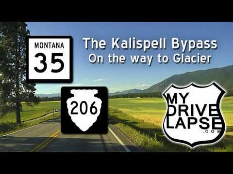 Kalispell Bypass: Montana 35 & 206, the road to Glacier NP