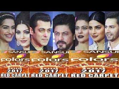Sansui Colors STARDUST Awards 2017 - FULL HD RED Carpet Show | Salman, Shahrukh, Deepika, Amitabh