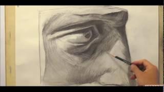 Hướng Dẫn Vẽ Khối Ngũ Quan: Chi Tiết Mắt