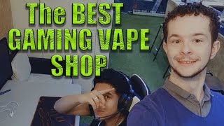 VLOG in the BEST GAMING VAPE shop in LONDON!