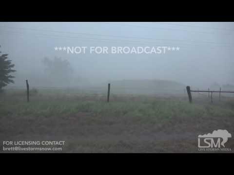 5-18-17 Freedom, Oklahoma Significant Winds -- Tornado Warned Circulation