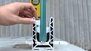 Glass Balustrade SABCO mounting instruction