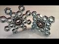 DIY Fidget Toy | Hand Spinner Model 6&7  | Hardware Store Items Easy To Make For Beginners