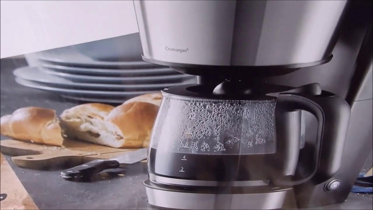 wmf bueno pro kaffeemaschine mit glaskanne youtube. Black Bedroom Furniture Sets. Home Design Ideas
