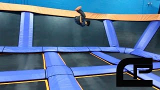 Crowd Parkour Skyzone Training