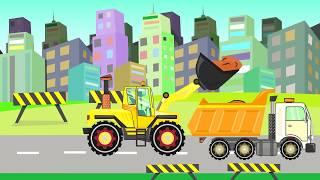 Demolition Crane - Machine for special tasks   Video for Kids