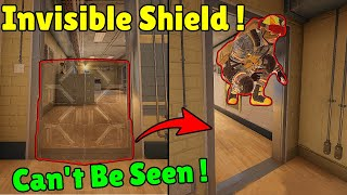 * NEW * FULLY Invisible Deployable Shield - Rainbow Six Siege