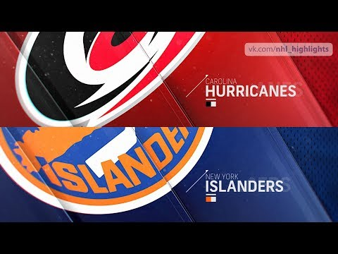 Carolina Hurricanes vs New York Islanders Jan 8, 2019 HIGHLIGHTS HD