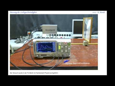 Messung der Lichtgeschwindigkeit