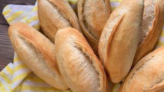 Vietnamese Baguette with Retarding Method Improved Recipe-Bánh Mì Việt Nam Ủ Chậm Công Thức Cải Tiến