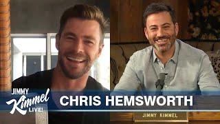 Chris Hemsworth on Quarantine in Australia, Homeschooling Kids & Thor Props