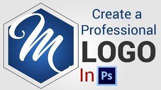 How to Create Minimalist Modern Logo Design In Adobe Photoshop Cs5