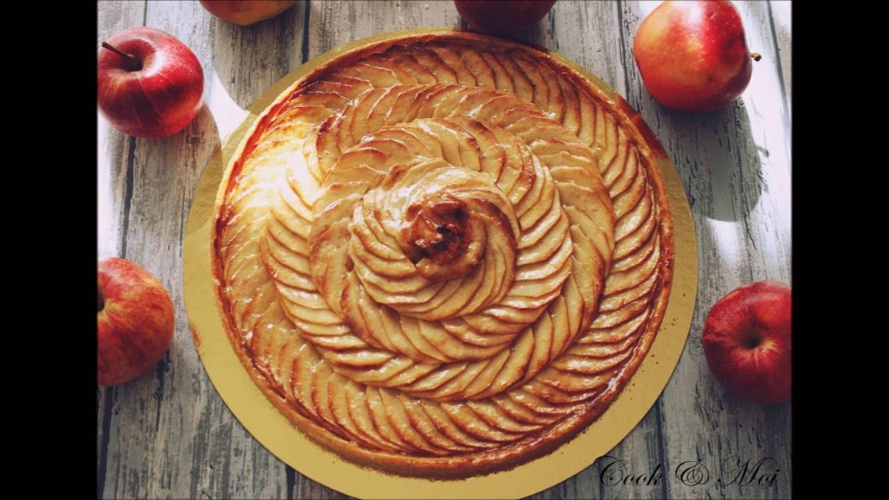 Rosace tarte aux pommes youtube - Dessin de tarte aux pommes ...