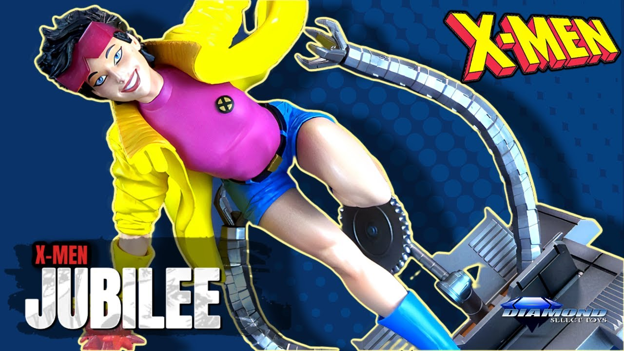 Diamond Select X-men Jubilee Gallery Statue | Video Review