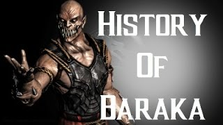 History Of Baraka Mortal Kombat X