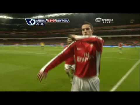 Arsenal 1 0 Liverpool RVP Arsenal 4ever