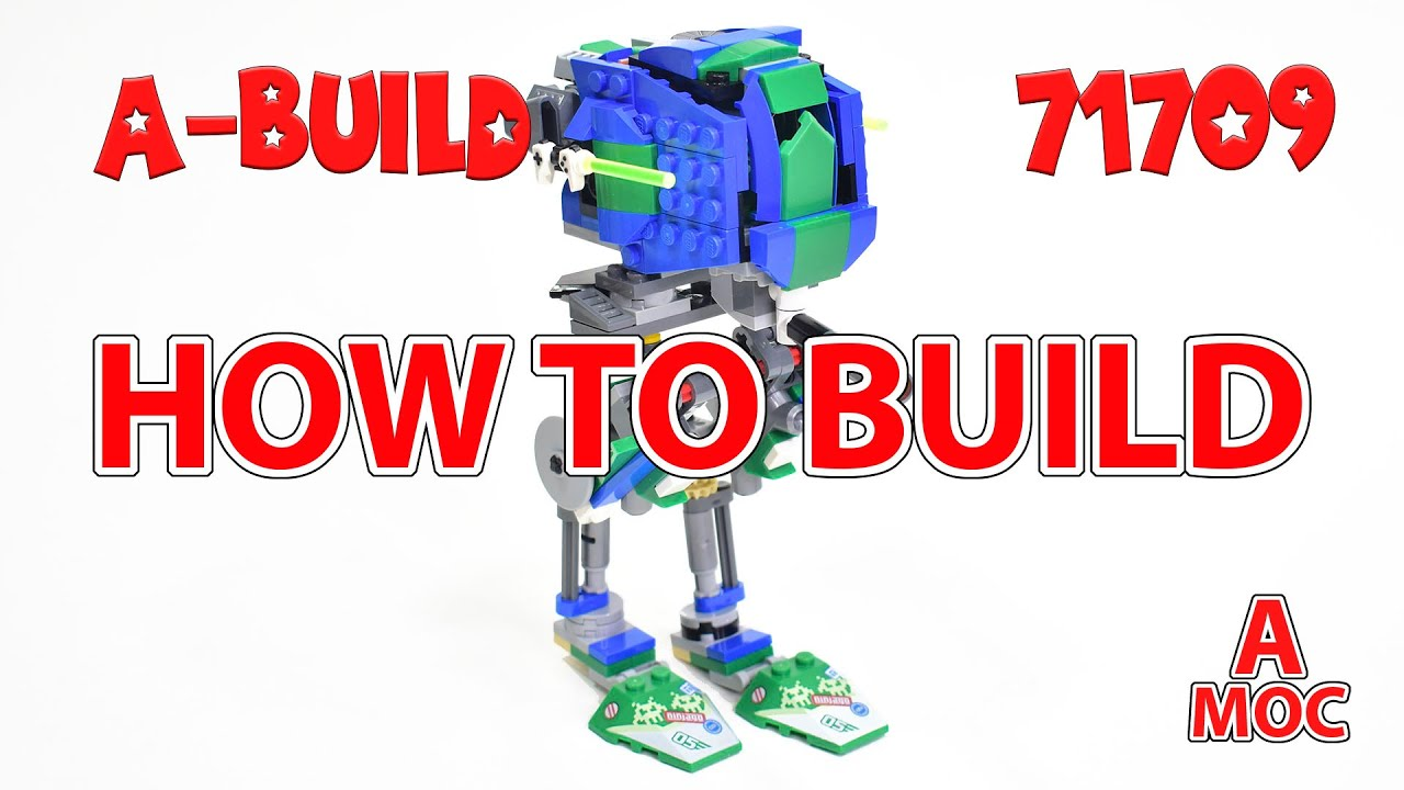 Download How to build Ninjago Lloyd AT-ST from Star Wars Alternate build LEGO 71709 (A MOC)