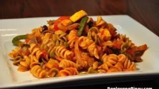 Vegetable Stir-fry Pasta