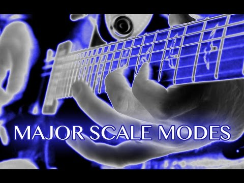 How to Use Major Scale Modes