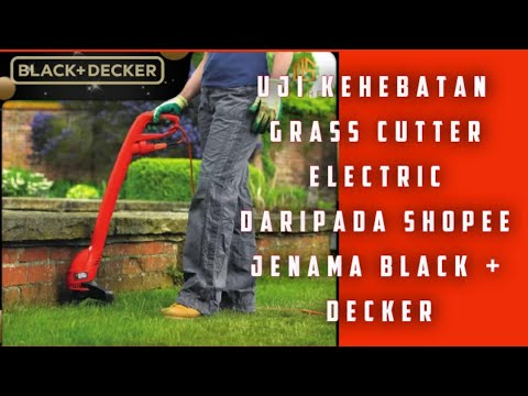 Grass Cutter From Shopee Less Than RM100 #shopee#grasscutter#blackdecker