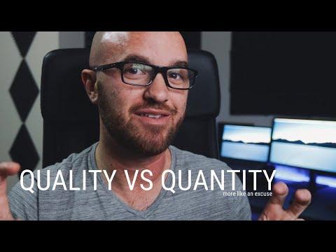 Quality vs Quantity on YouTube